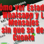 Cómo Ver Estados de Whatsapp y Leer Mensajes sin que se den Cuenta