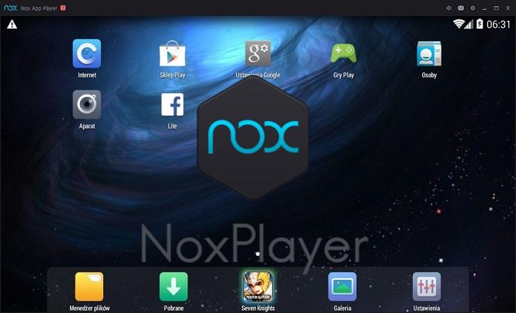 NOX PLAYER - Emulador de Celular para PC