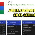 Cómo ABRIR ARCHIVOS RAR en Android