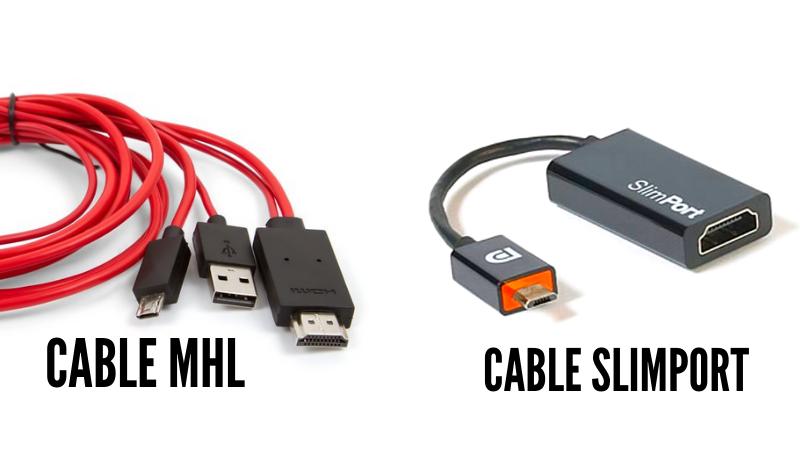 Como Conectar el Celular a TV por MHL o Slimport
