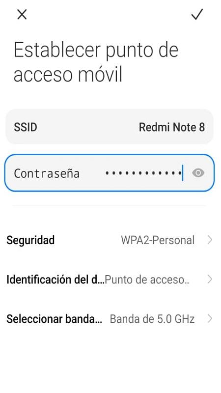 Como Configurar el Punto de Acceso Wifi en tu Celular