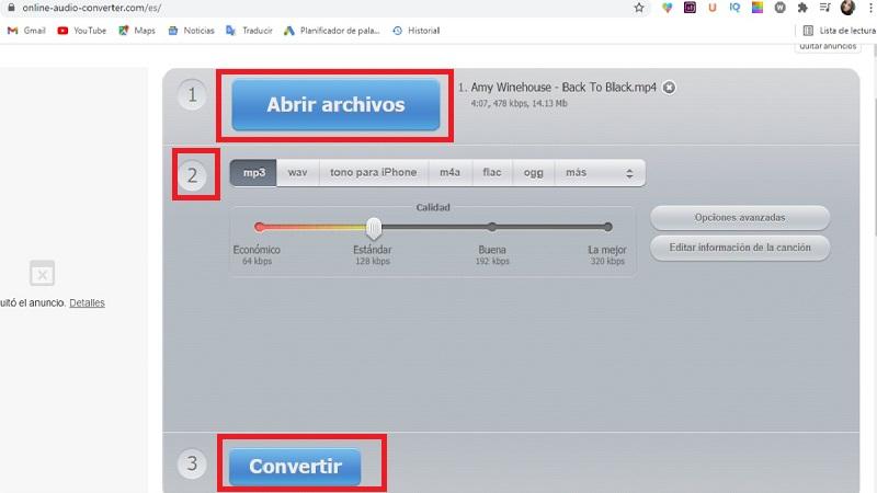 Como Convertir un VIDEO A MP3 en linea