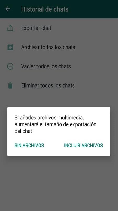 Como Guardar una Conversación de WhatsApp en PC