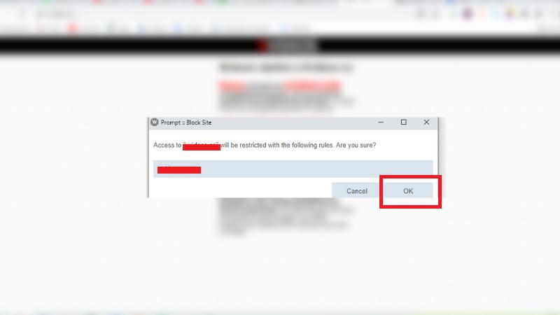 Como Restringir un Sitio Web