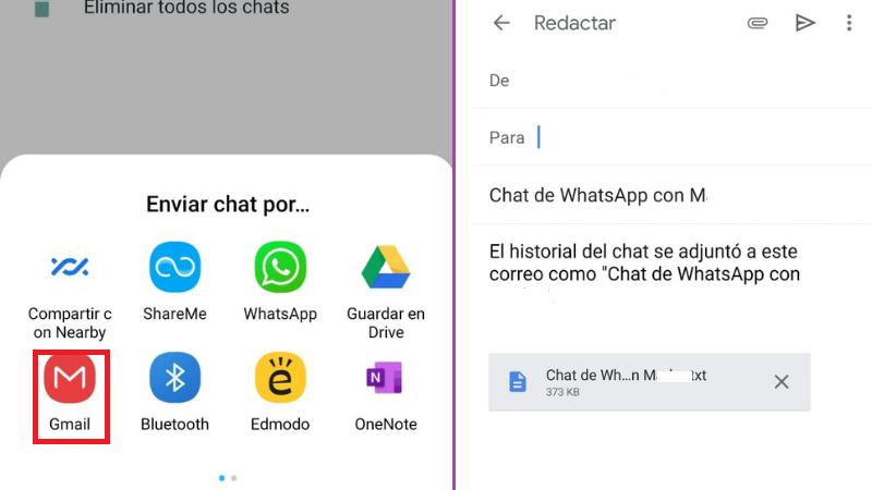 Cómo Ver Conversaciones de WhatsApp en Gmail