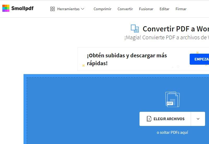 como convertir pdf a word gratis