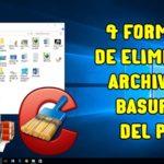 Eliminar Archivos Temporales, Basura e Innecesarios del PC