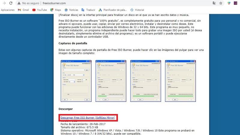 Aplicaciones para manipular imágenes ISO