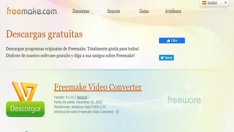 Freemake Compresores gratuitos de video