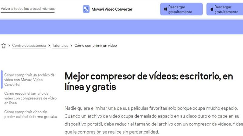 Movavi Video Converter Programas para Convertir Videos sin Perder Calidad