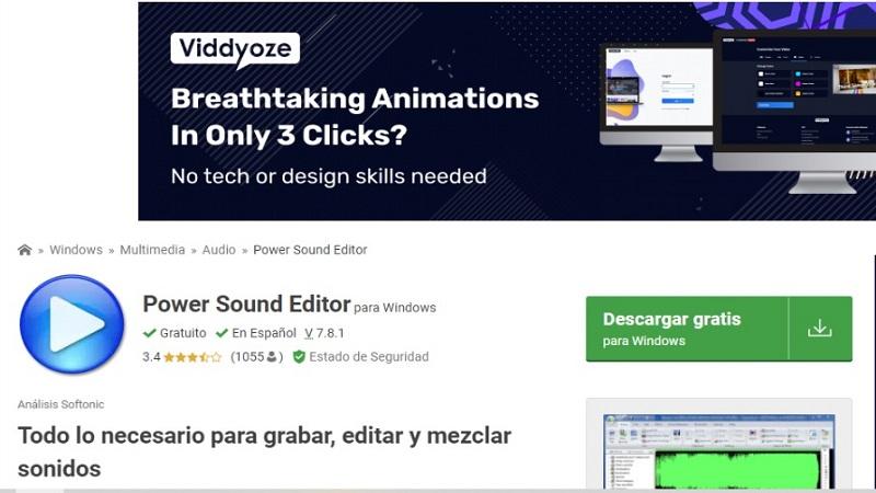 editores de audio fáciles de utilizar