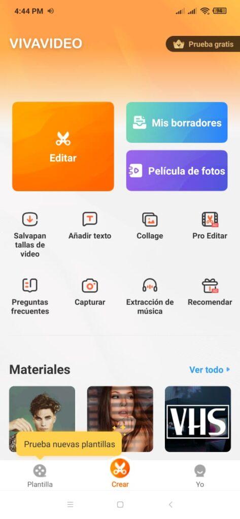Editores de video gratuitos para mi celular